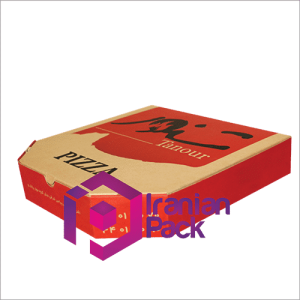 جعبه پیتزا مدل 6ضلعی