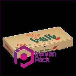 جعبه پیتزا مدل مستطیلی