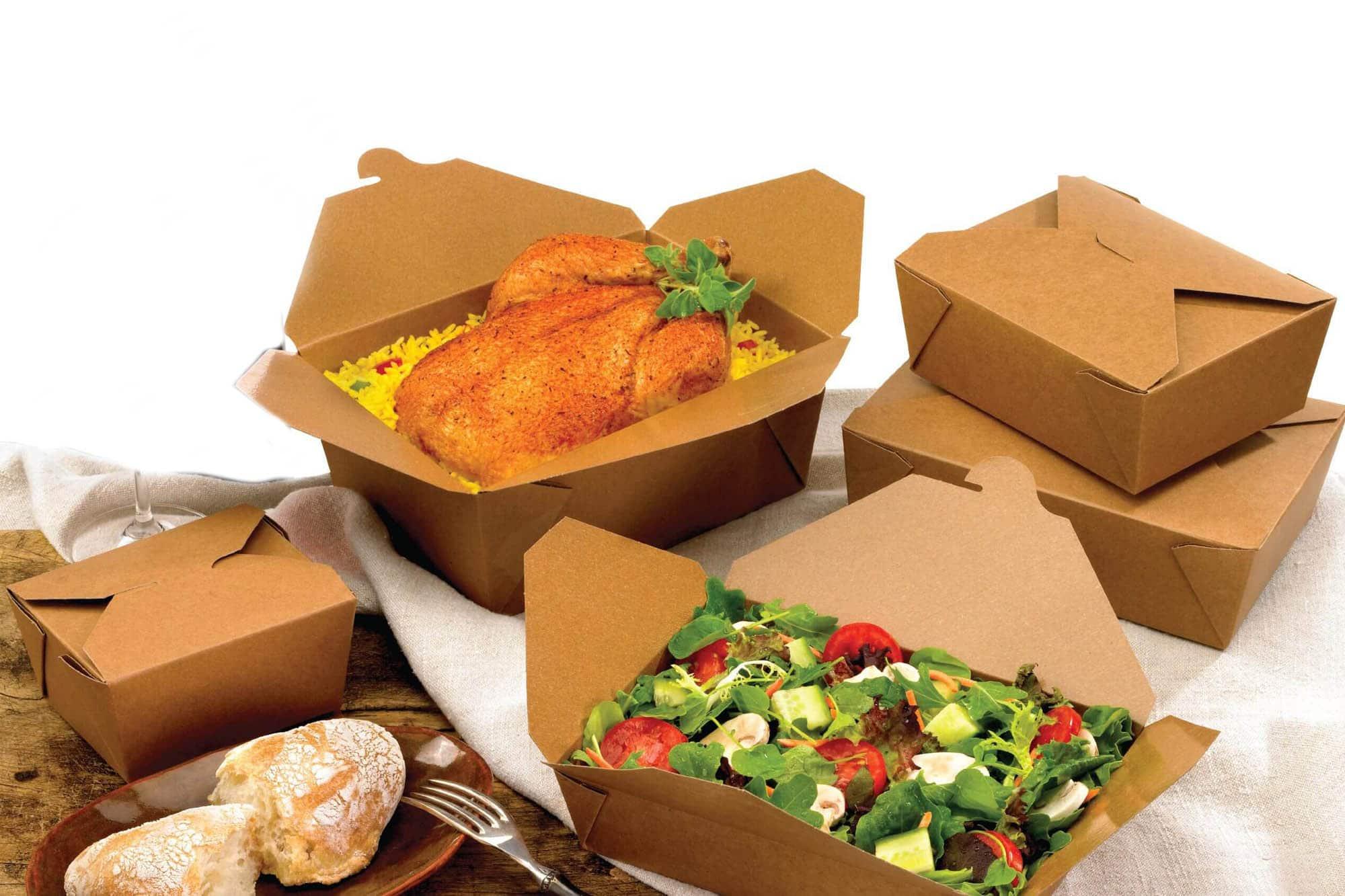 fast food packaging