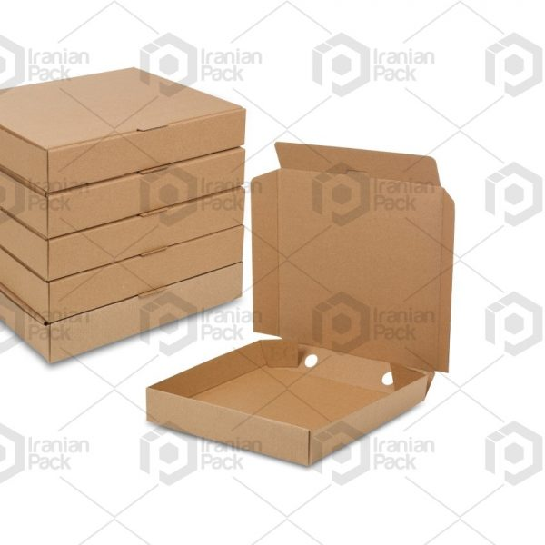 cardboard pizza box