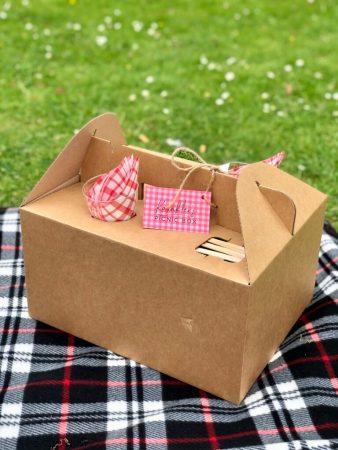 جعبه غذا دسته دار