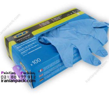 جعبه دستکش یکبار مصرف