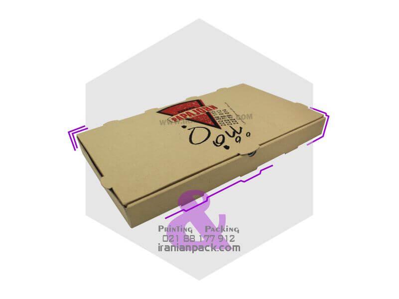 جعبه پیتزا مستطیل