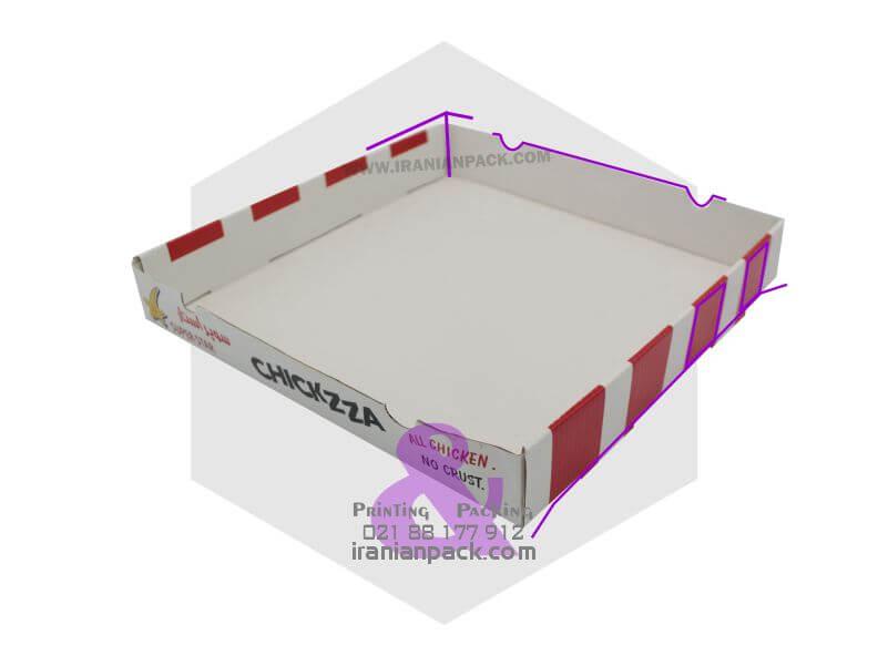 جعبه پیتزا سالن