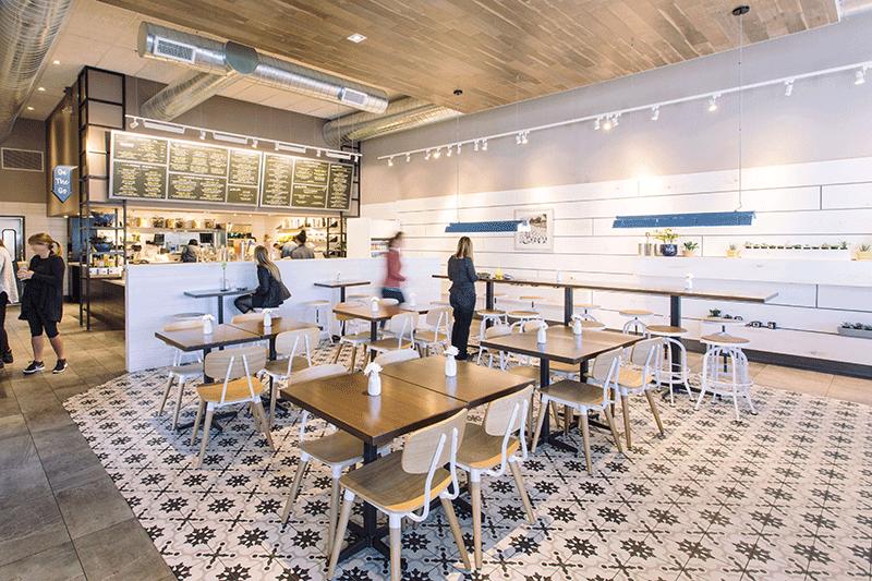شکل میز و صندلی رستوران