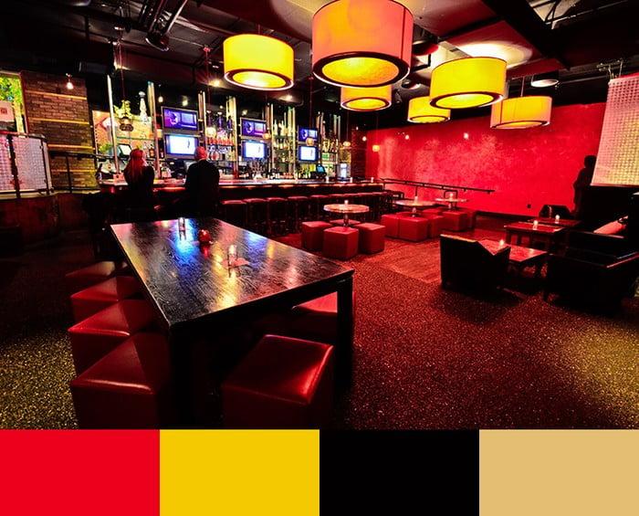 روانشناسی رنگ ها در رستوران