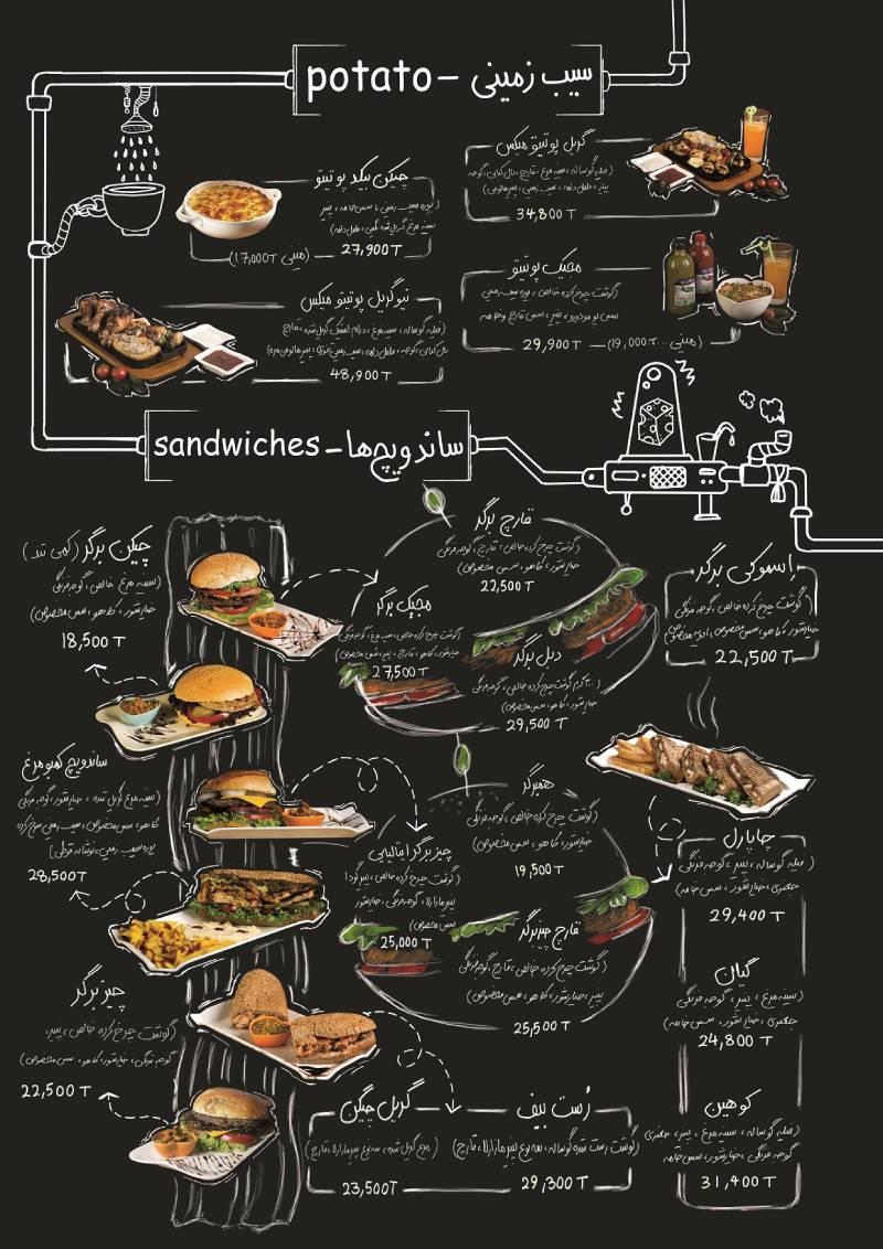 قیمت متعادل غذا در رستوران