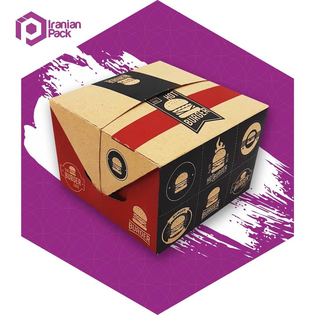 جعبه پیتزا دوتکه (درب جدا یا درب و زیره)