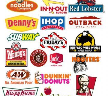 طراحی نماد رستوران