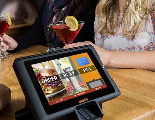 تکنولوژی در رستوران