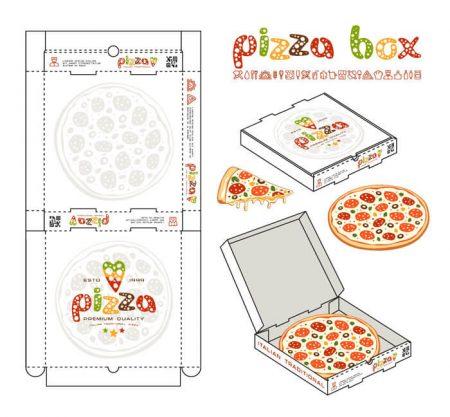 طرح جعبه پیتزا