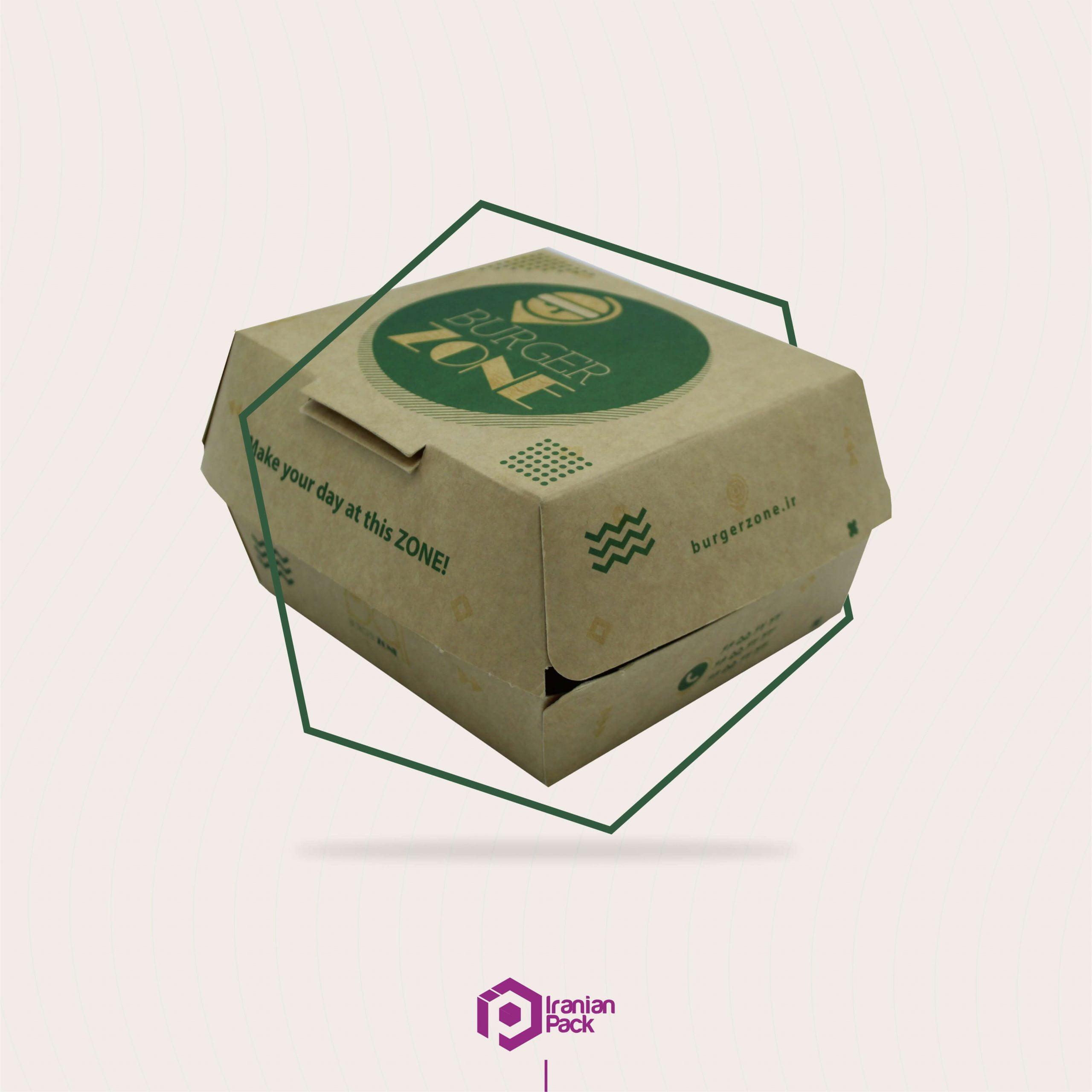 انواع جعبه پیتزا