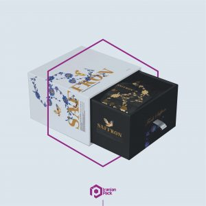 جعبه زعفران صادراتی