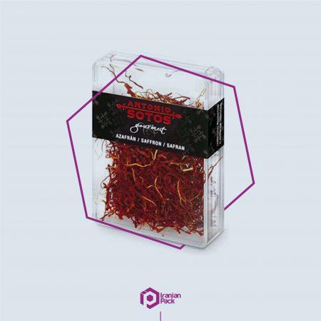 جعبه زعفران کادویی