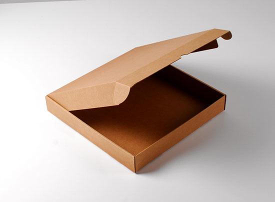 جعبه پیتزا دو نفره خام