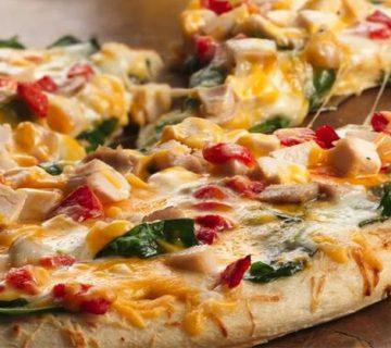 پیتزا مرغ