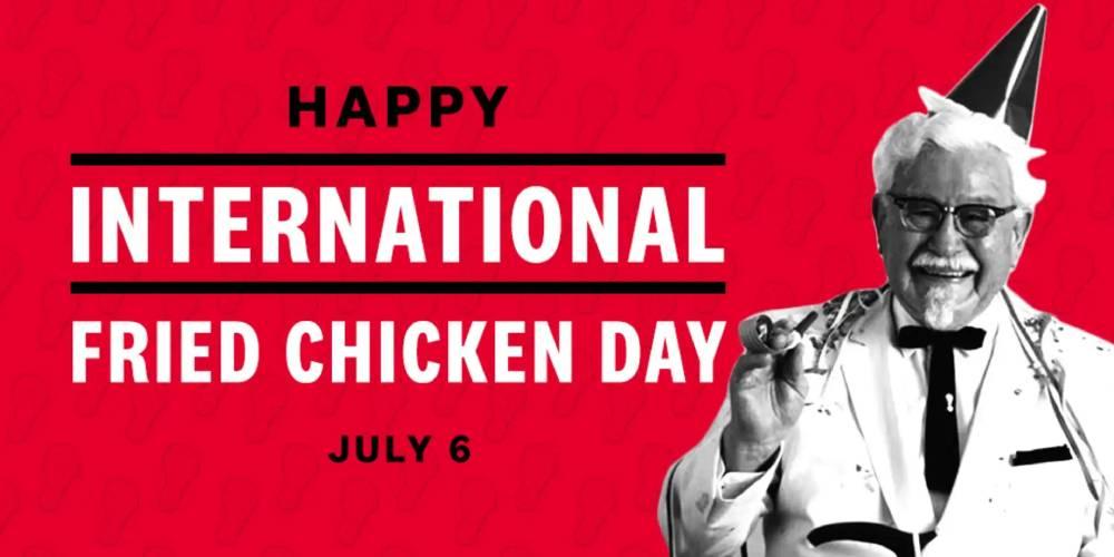 بزرگداشت روز جهانی مرغ سوخاری