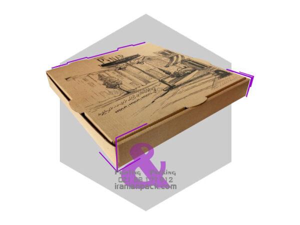 جعبه پیتزا کلاسیک