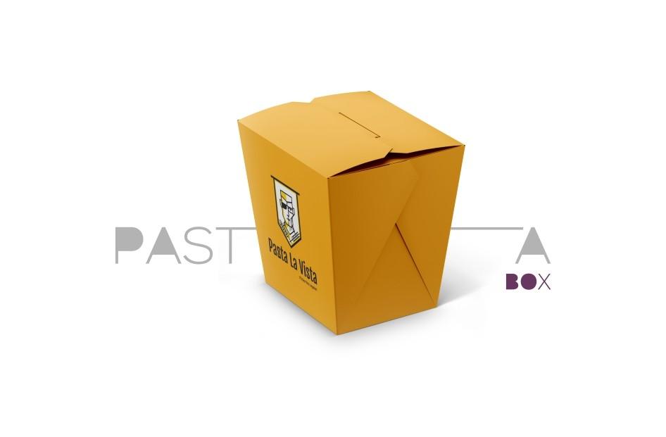 جعبه پاستا و سالاد