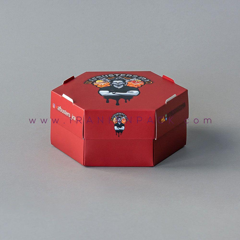 جعبه سوخاری شش ضلعی سفره ای